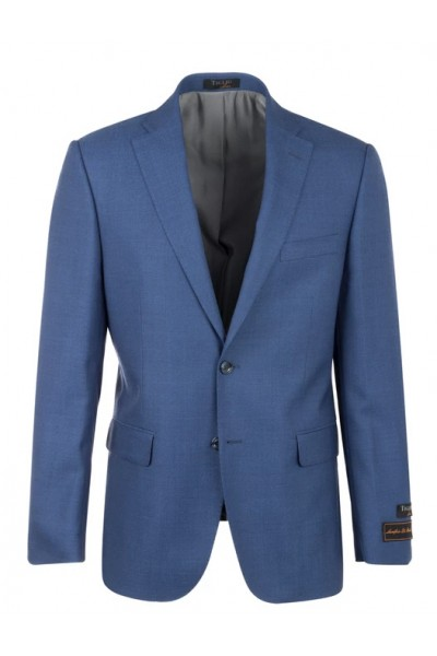 Tiglio Modern Fit Men's Blazer - Dolcetto French Blue