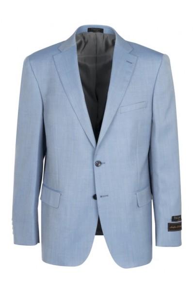 Tiglio Modern Fit Men's Blazer - Dolcetto Sky Blue