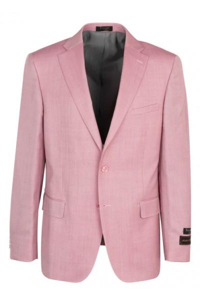 Tiglio Modern Fit Men's Blazer - Dolcetto Pink