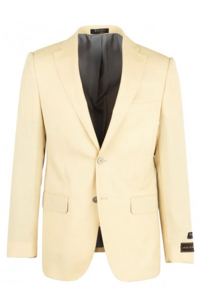 Tiglio Modern Fit Men's Blazer - Dolcetto Cream