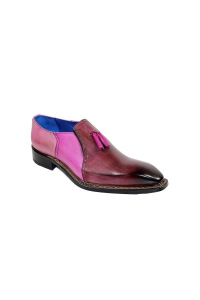 Men's Shoes by Emilio Franco - Tri Tone / Bordo