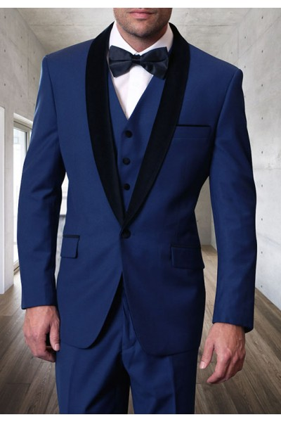 Men's Tux - Tailored Fit - Encore-V Sapphire