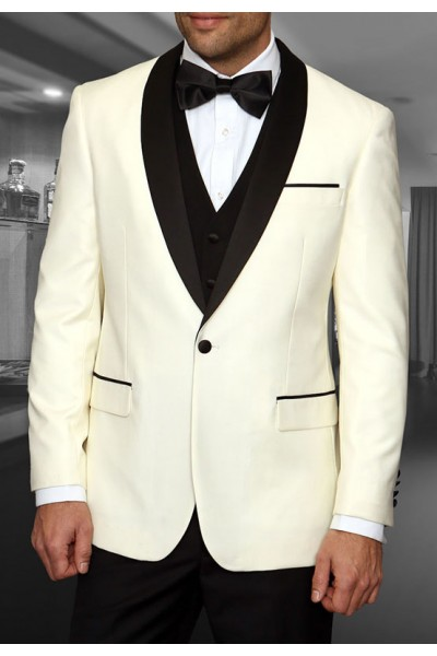 Men's Tux - Tailored Fit - Encore Cream a
