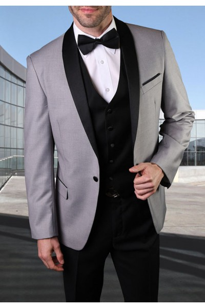 Men's Tux - Tailored Fit - Encore Gray a
