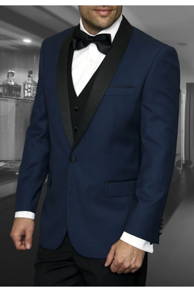 Men's Tux - Tailored Fit - Encore Indigo a