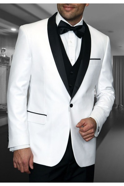 Men's Tux - Tailored Fit - Encore White a