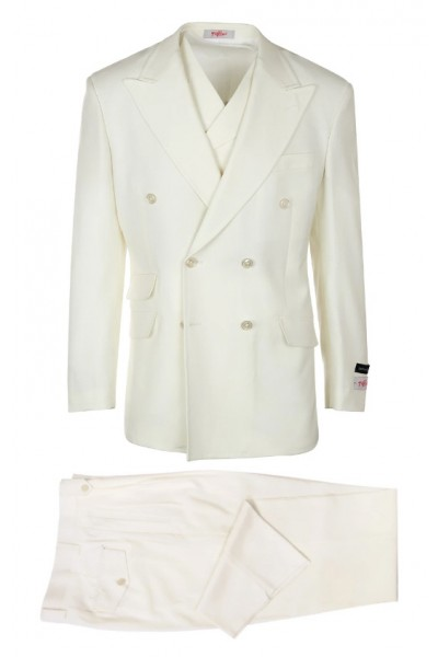 EST Men's Suit by Tiglio Rosso - EST Off White