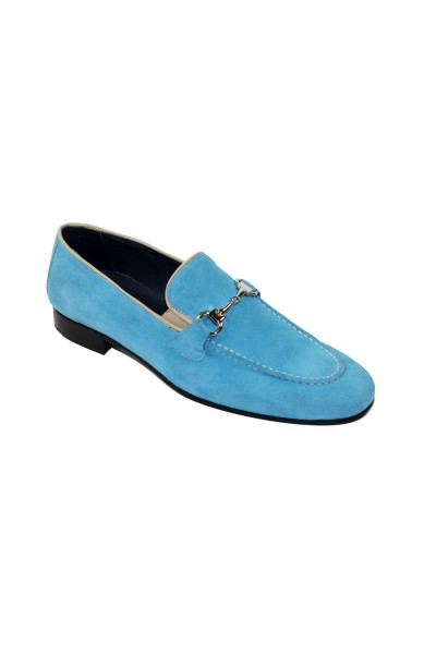 Duca by Matiste Men's Shoes - Made in Italy - Forli - LT Blue
