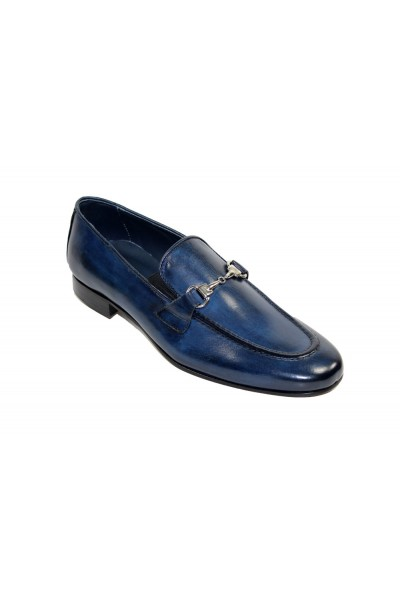 Duca by Matiste Men's Shoes - Made in Italy - Forli - Navy