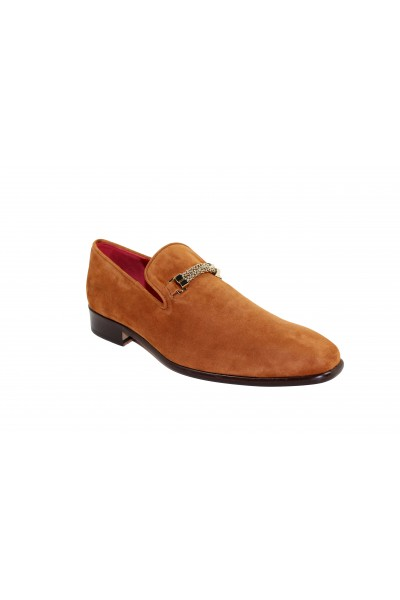 Men's Shoes by Emilio Franco - Cognac