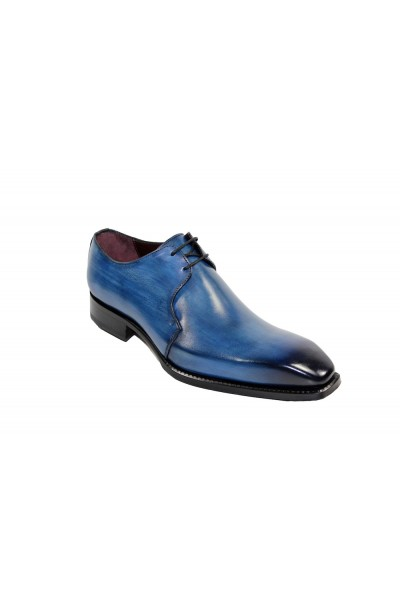Men's Shoes by Emilio Franco - Blue
