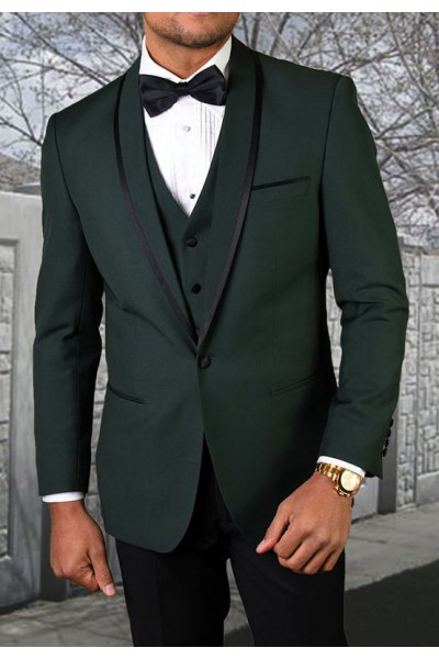 Men's Tux - Tailored Fit - Genova Hunter