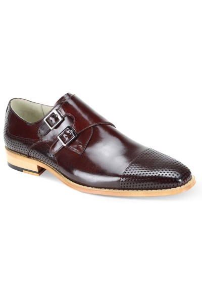 Gyles Slip-On Men's Shoe by Giovanni - Burgundy