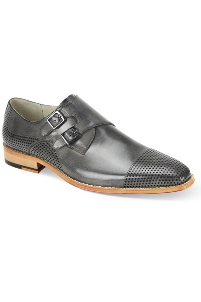 Gyles Slip-On Men's Shoe by Giovanni - Grey