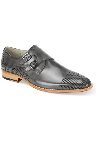 Gyles Slip-On Men's Shoe by Giovanni - Grey
