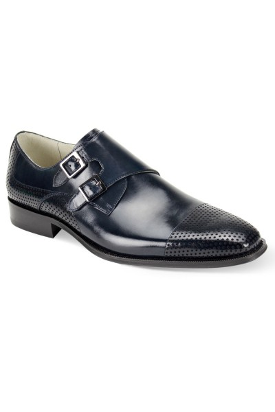 Gyles Slip-On Men's Shoe by Giovanni - Navy