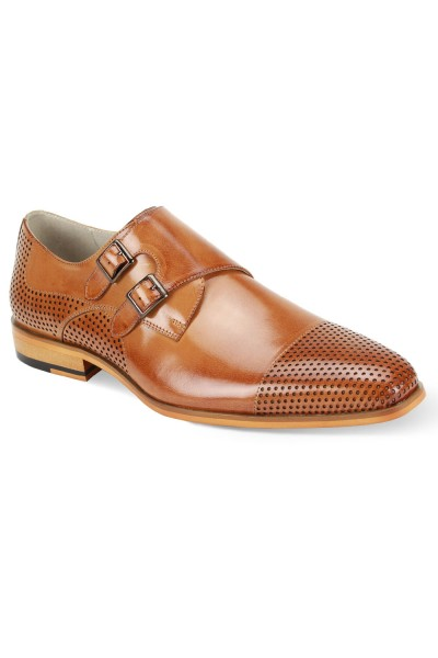 Gyles Slip-On Men's Shoe by Giovanni - Tan