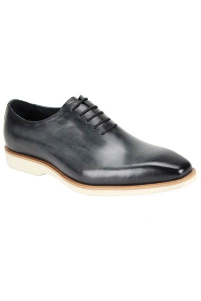 Jared Lace-Up Men's Shoe by Giovanni - Grey