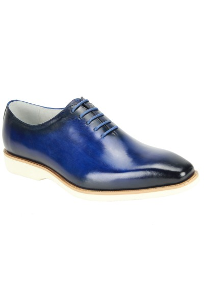 Jared Lace-Up Men's Shoe by Giovanni - Midnight Blue
