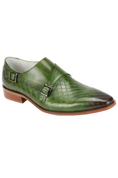 Jasper Slip-On Men's Shoe by Giovanni - Green
