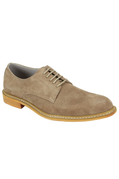 Kennedy Lace-Up Men's Shoe by Giovanni - Natural