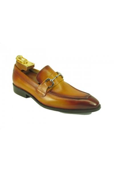 Men's Fashion Shoes by Carrucci - Slip-On Cognac Ombre