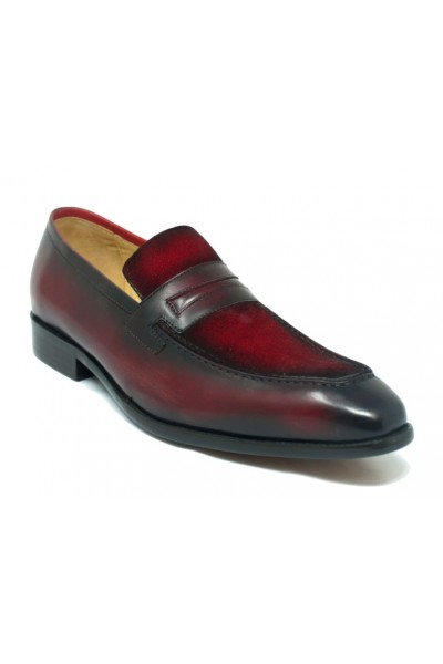 Men's Slip-On Shoes by Carrucci - Duo / Red