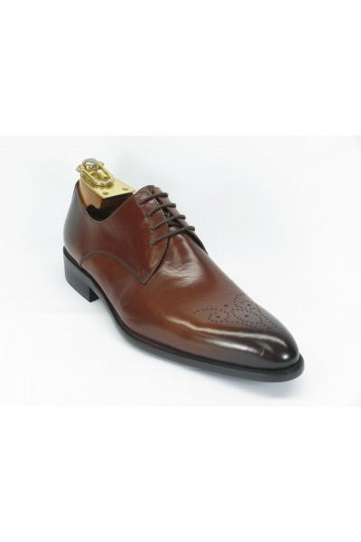 Men's Fashion Shoes by Carrucci - Lace-Up Cognac Ombre