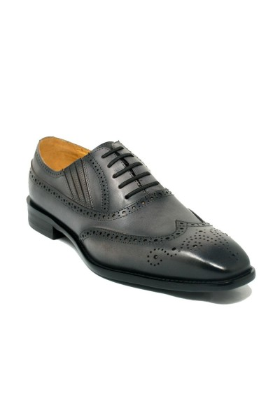 Men's Lace-Up Shoes by Carrucci - Gray
