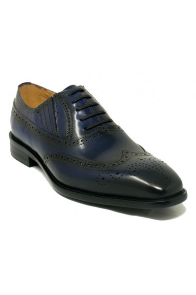 Men's Lace-Up Shoes by Carrucci - Navy