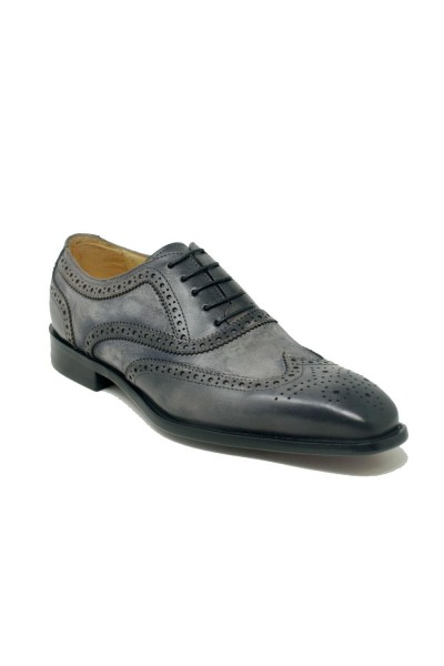 Men's Lace-Up Shoes by Carrucci - Duo Gray