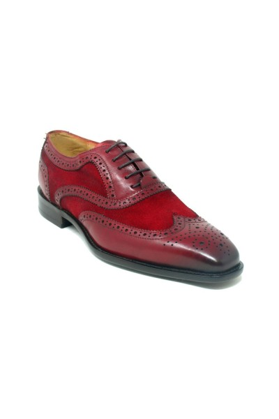 Men's Lace-Up Shoes by Carrucci - Duo Red
