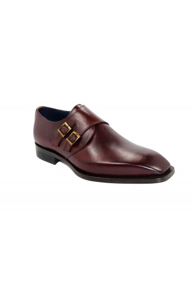 Duca by Matiste Men's Shoes - Made in Italy - Latina - Burgundy