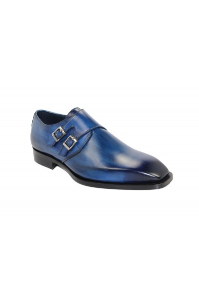 Duca by Matiste Men's Shoes - Made in Italy - Latina - Ocean Blue