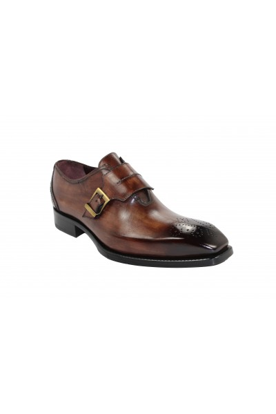 Men's Shoes by Emilio Franco - Brown