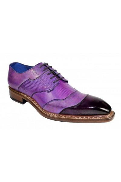 Men's Shoes by Emilio Franco - Martino Purple Combo