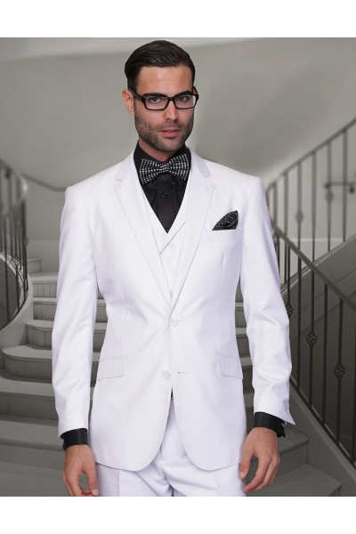 Men's Suit - Regular Fit - Messina White