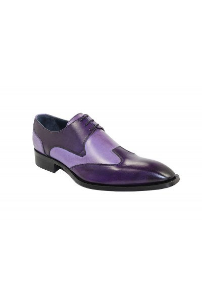 Duca by Matiste Men's Shoes - Made in Italy - Milano Purple Lavender