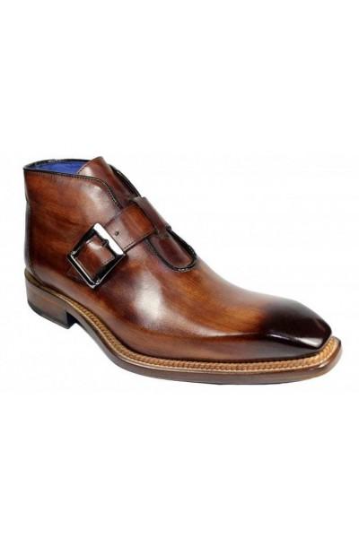 Men's Half Boot by Emilio Franco - Milo Brown