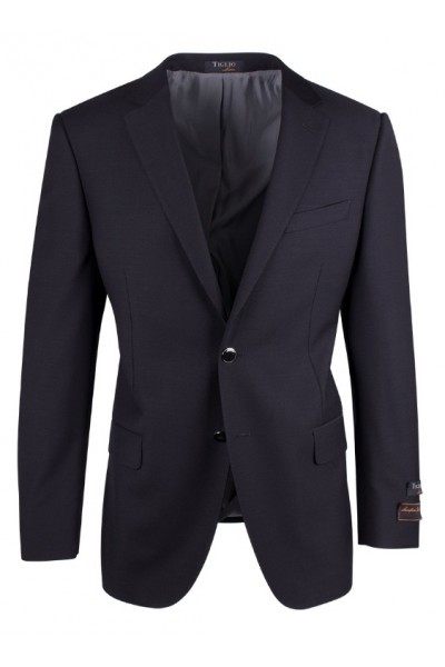 Tiglio Luxe Modern Fit Men's Blazer - Novello Black
