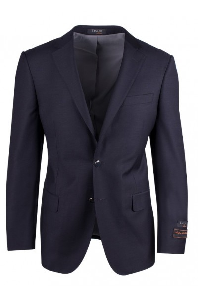 Tiglio Luxe Modern Fit Men's Blazer - Novello Navy