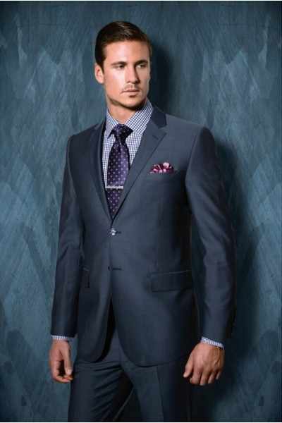 Tiglio Lux Modern Fit Men's Suit - NOVELLO SUIT