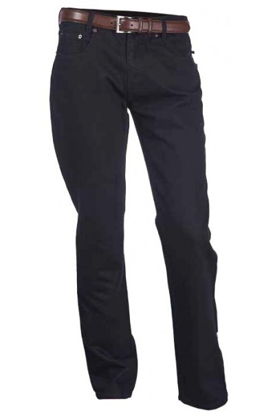 Men's Cotton Jeans by Merc/InSerch - Black