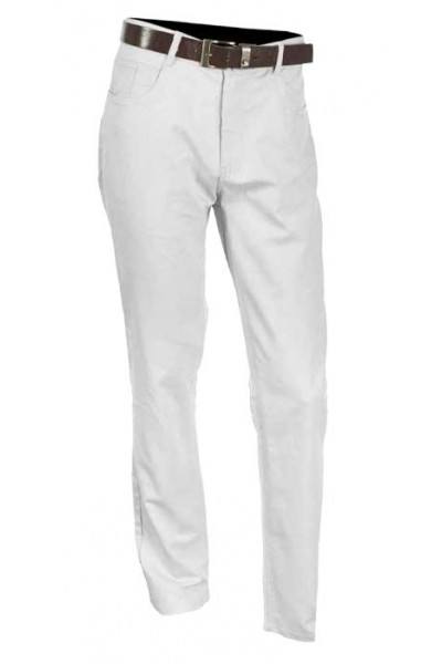 Men's Cotton / Linen Pants by Merc/InSerch - White