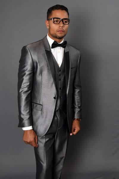 Men's Fashion Tux by STATEMENT - Palace Gray