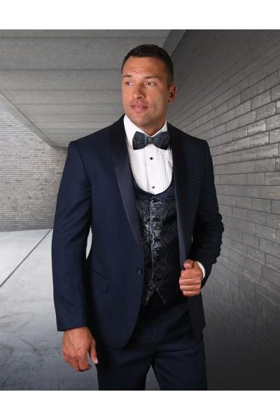 Men's Tux - Tailored Fit - Palmero Indigo