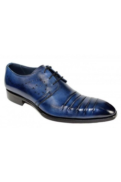 Duca by Matiste Men's Shoes - Made in Italy - Pesaro Navy