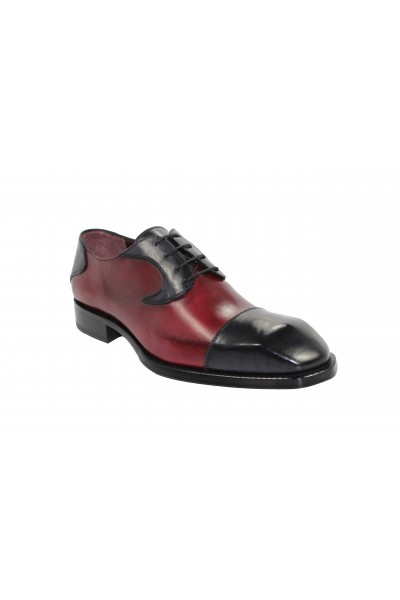 Men's Shoes by Emilio Franco - Dark GreyWine