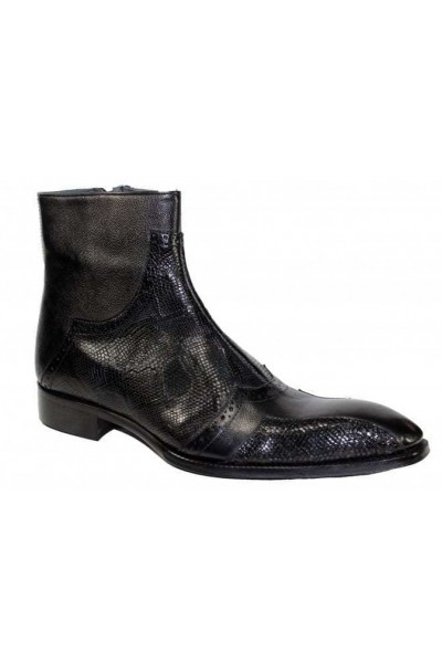 Duca by Matiste Men's Shoes - Made in Italy - Prato Black