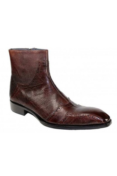 Duca by Matiste Men's Shoes - Made in Italy - Prato Chocolate
